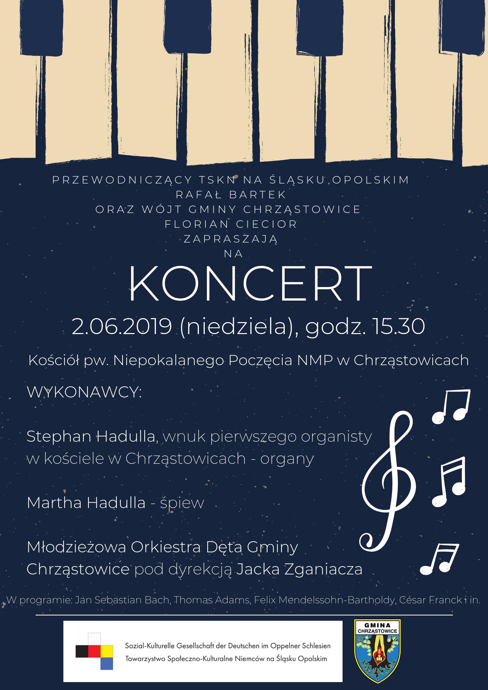 Koncertkonzert Mniejszość Niemiecka Towarzystwo